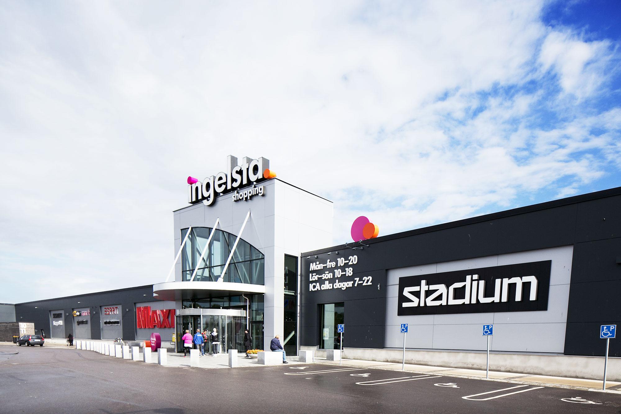 ingelstad shopping norrköping öppettider